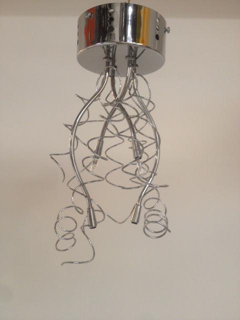 Lampada da soffitto 360/PL4 cromo, sconto 50%, prezzo scontato 100,00 euro - 1 pezzo disponibile