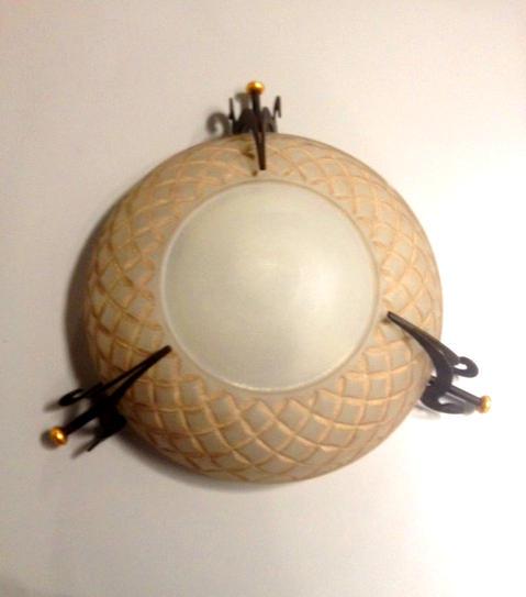 Lampada da soffitto 4030PL54 ruggine, sconto 50%, prezzo scontato 200,00 euro - 1 pezzo disponibile