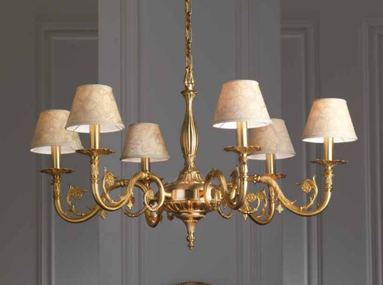 02/50029 6LP lampadario classico di IMAS