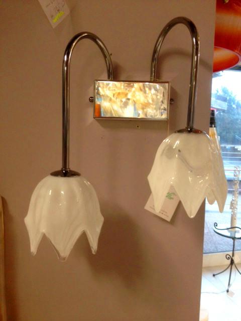 Lampada da parete La Murrina 738/AP2 bianco, sconto 50% - 1 pezzo disponibile