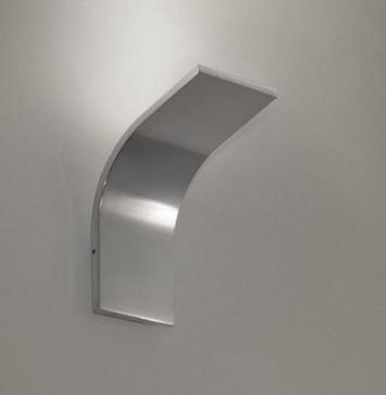 Lampada da parete App 1.0.36 Alluminio Lucido, sconto 50%, 1 pezzo disponibile