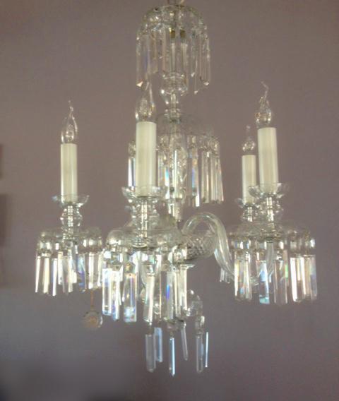 Lampadario classico in cristallo di Boemia 5L, sconto 50%, 1 pezzo disponibile