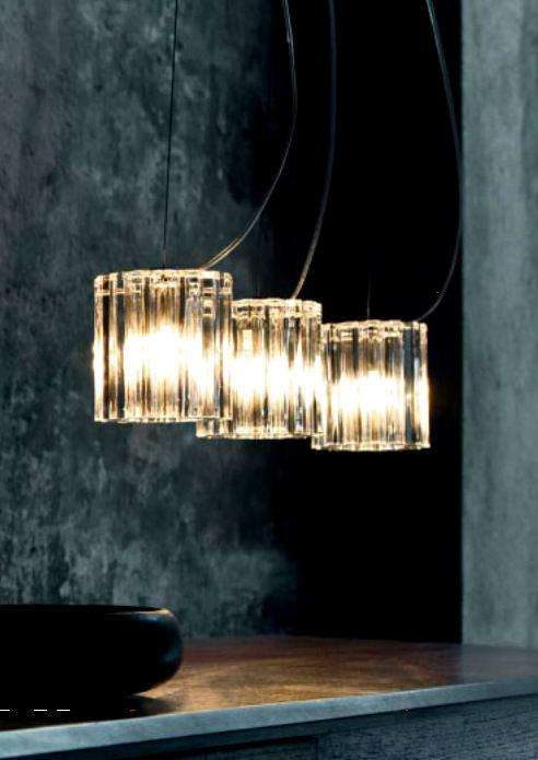 Sospensione moderna Charlotte 3 luci S3D – sconto 50%, 1 pezzo disponibile