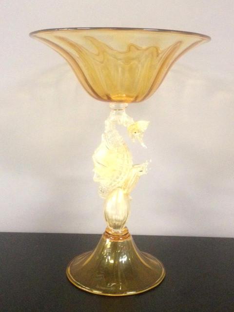 Coppa Drago Ambra/Oro, 1 pezzo disponibile, sconto 50%, prezzo scontato 915,00 Euro
