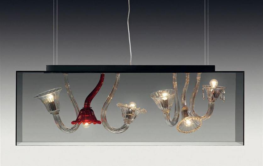 Lampada a Sospensione Curiosity Cabinet 6 luci, sconto 50%, 1 pezzo disponibile