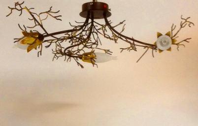 Lampada da soffitto Erica 4060/PL3 ruggine, sconto 50%, prezzo scontato 358,00 euro - 2 pezzi disponibili