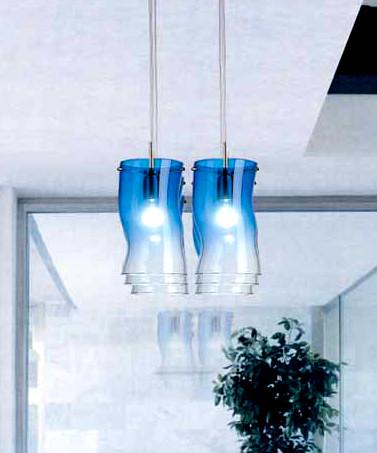 Sospensione La Murrina Flex S6 blu, sconto 50% - 2 pezzi disponibili