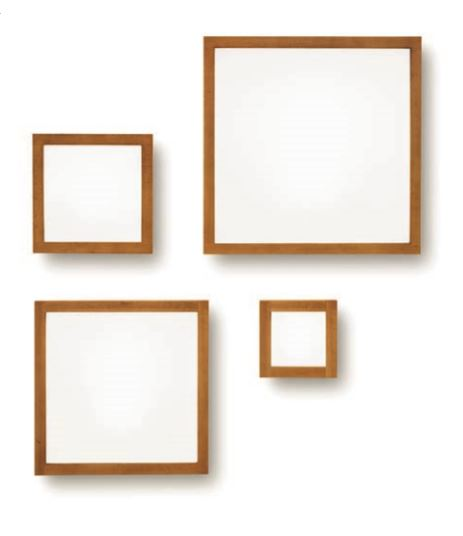 Applique Plafoniera Frame 71910 di Linealight, sconto 50%, 2 pezzi disponibili