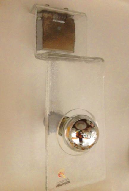 Lampada da parete Ghiaccio AP, sconto 50%, 2 pezzi disponibili