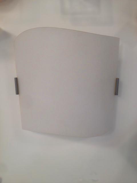 Lampada da parete Hugo AP bianco, sconto 50%, PRODOTTO ESAURITO