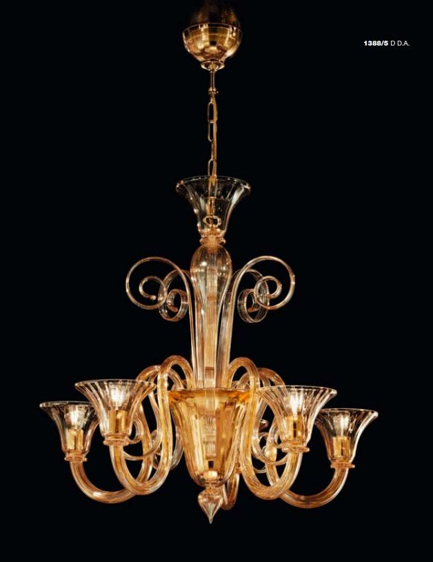 1388-5 lampadario classico - PRODOTTO ESAURITO