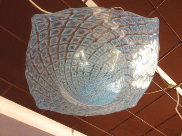 Plafoniera La Murrina Macrame R50 azzurra, sconto 50% - 1 pezzo disponibile