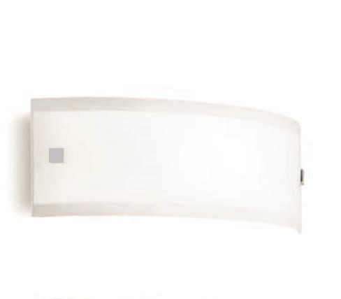 Applique moderna Mille led 7621 di Linealight, bianco inserti color nickel, sconto 50%, 2 pezzi disponibili