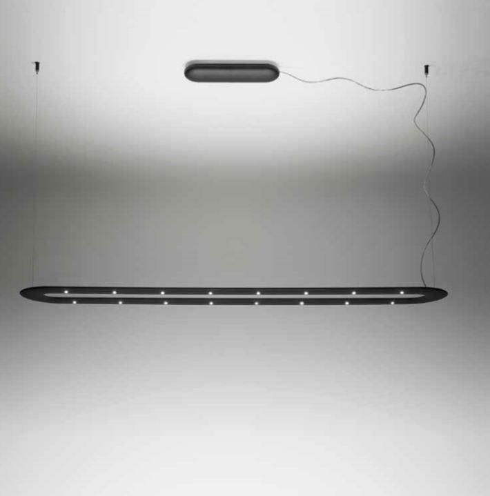 Sospensione moderna a led O Line di Linealight MA e DE, 1 pezzo disponibile