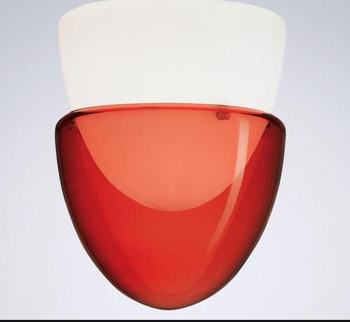 lampada da parete La Murrina Phoenix A Rosso, sconto 50% - 2 pezzi disponibili