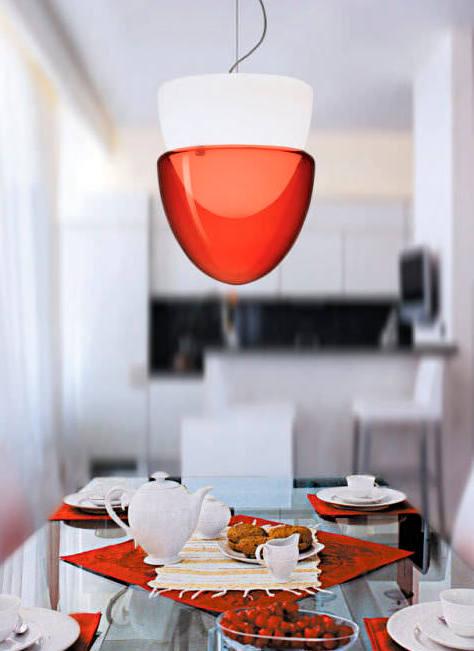 Sospensione La Murrina Phoenix S rosso, sconto 50% - 1 pezzo disponibile