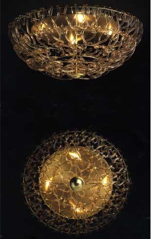 Legàmi 500/PL ambra  di LAMP - SU PL 60 PROMOZIONE META' PREZZO