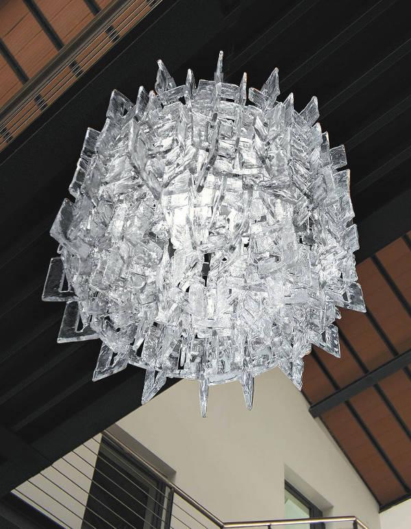 Lampada da Soffitto Sixty PL2052 cristallo, sconto 50%, PRODOTTO ESAURITO