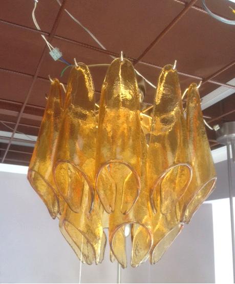 Plafoniera La Murrina Prisma R38 topazio (ambra), sconto 50% -  PRODOTTO ESAURITO