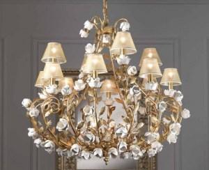01/41124 22LP lampadario classico di IMAS Image 0