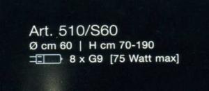 Sfera 510 S60 di LAMP - PRODOTTO ESAURITO Image 1