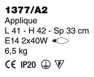 applique classica 1377 A2 di Sylcom Image 1