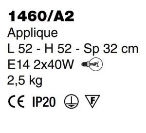 applique classica 1460 A2 PRODOTTO ESAURITO Image 1