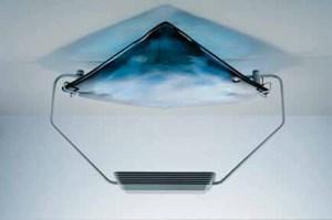 Plafoniera La Murrina Azzurra R50 spatolato bianco, sconto 50% - 1 pezzo disponibile Image 1