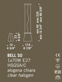 Sospensione moderna Bell SO – sconto 50%, 1 pezzo disponibile Image 1