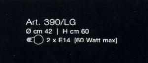 PRODOTTO ESAURITO - Bon Ton 390 LG di LAMP Image 1