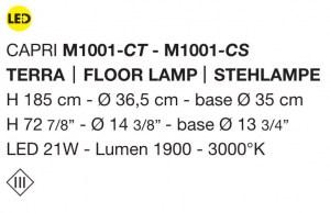 Capri Led M1001 di MICRON Image 1