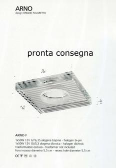 PRODOTTO ESAURITO - Arno/F di DE MAJO Image 1