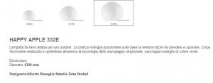 PRODOTTO ESAURITO - Happy Apple 332 di PEDRALI Image 1