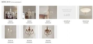 0-2610 lampadario classico di Lam export Image 2