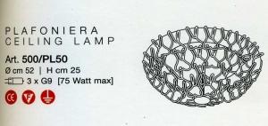 Legàmi 500/PL rosso di LAMP - PRODOTTO ESAURITO Image 1