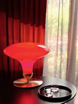 Lampada da tavolo TA 4049 rosso, sconto 50%, 1 pezzo disponibile Image 1