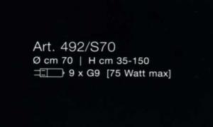 Marea 492 S70 di LAMP - PRODOTTO ESAURITO Image 1