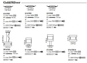 New York silver SP 8/232 di SILLUX - PRODOTTO ESAURITO Image 1