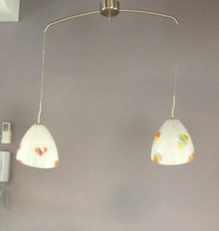 Sospensione La Murrina Perla/S2 bianco murrine colorate, sconto 50% - 1 pezzo disponibile Image 0