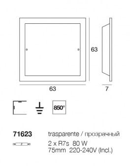 Plafoniera Piana 71623 di Linealight, sconto 50%, 1 pezzo disponibile Image 1