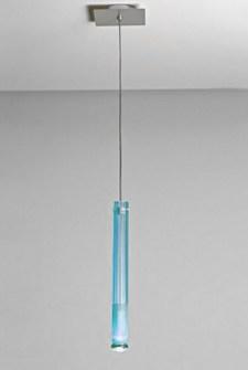 Lampada a Sospensione Point azzurro, sconto 50%, 1 pezzo disponibile Image 0
