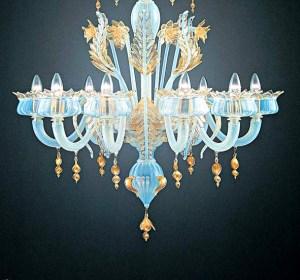 Lampadario La Murrina 8 luci Puccini S8 anice e oro, sconto 50% - 1 pezzo disponibile Image 0
