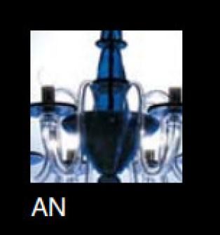 Lampadario La Murrina 6 luci Serenata S6 blu, sconto 50% - PRODOTTO ESAURITO Image 2