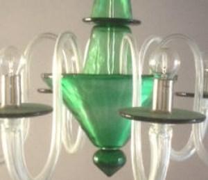 Lampadario La Murrina 6 luci Serenata S6 verde, sconto 50% - 1 pezzo disponibile Image 2