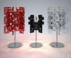 Lampada da Tavolo Sixty LP cristallo, sconto 50%, 2 pezzi disponibili Image 0