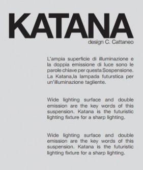 sospensione moderna led Katana di Cattaneo Image 4