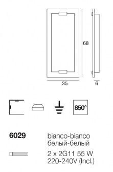 Applique Plafoniera Tabula 6029 di Linealight, sconto 50%, 2 pezzi disponibili Image 2