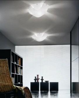Lampada da soffitto moderna Tourbillon PL P9632 bianco, sconto 50% -  PRODOTTO ESAURITO Image 0