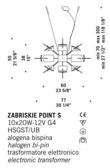 Sospensione moderna Zabriskie Point S – sconto 50%, 1 pezzo disponibile Image 1
