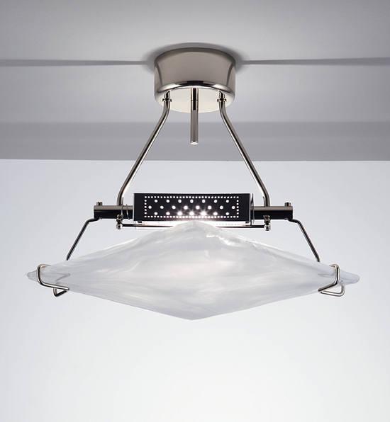 Lampada da soffitto La Murrina La Murrina Rumba/R foglia bianca, sconto 50% - PRODOTTO ESAURITO
